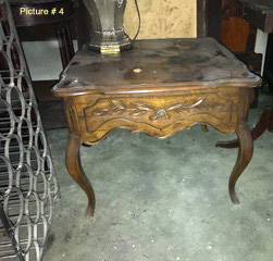 Ornate antique table